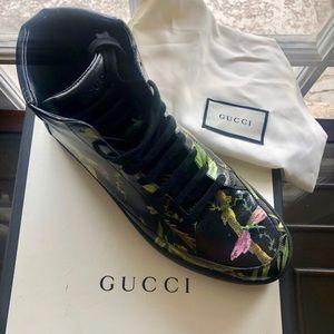 Gucci men shoes model Shanghai St.tropical
